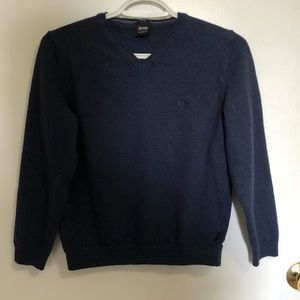 3/$10 Boys Navy Blue Hugo Boss Sweater